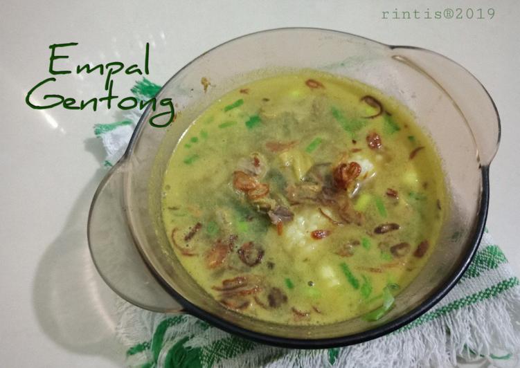 Cara Membuat Empal Gentong aka empal panci aja 😆 sederhana dan enak