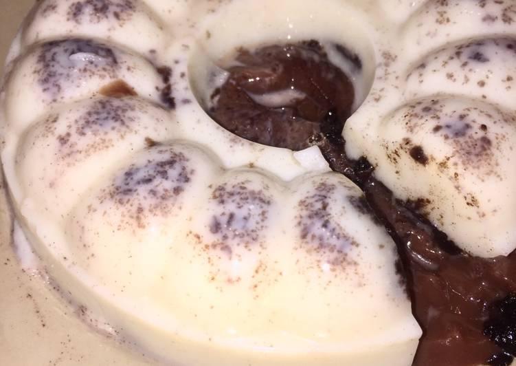 Pudding Oreo Milk