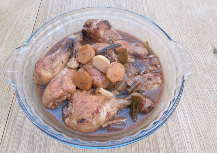 Step-by-Step Guide to Make Ultimate Braised chicken drumsticks