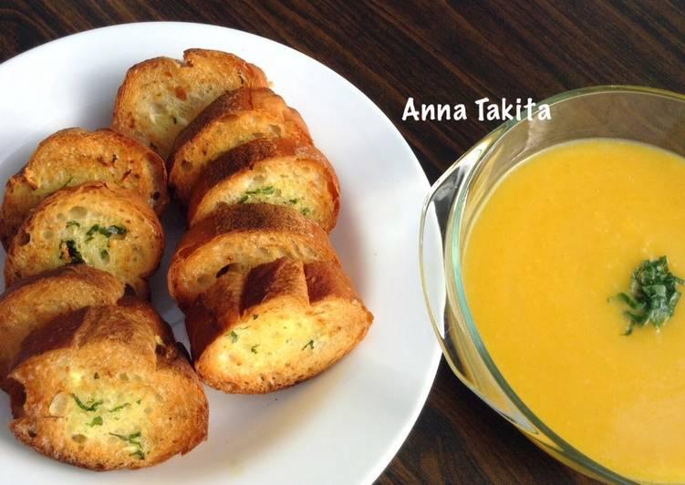 Resep Pumpkin Cream Soup oleh Anna Takita - Cookpad