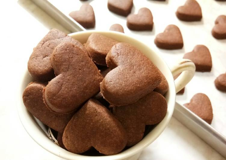 Basic Cookies Cokelat Eggless