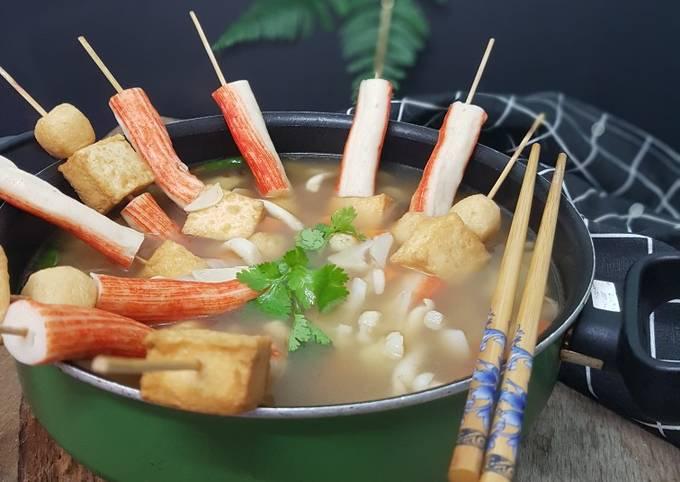Oden versi Sup Siam