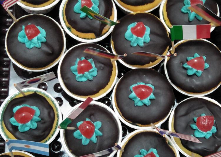Muffin Vanila Coklat Ceria