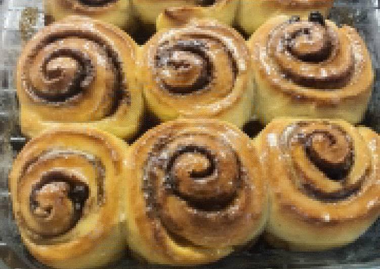 Cinnamon Roll Ulen Tangan