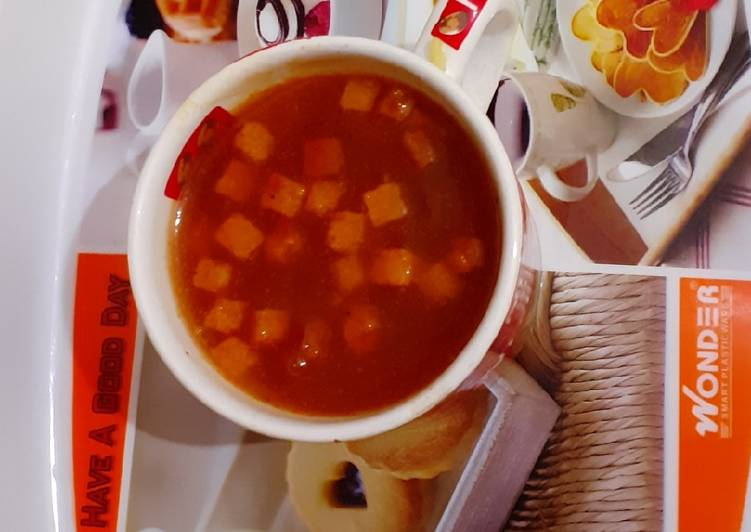 How to Make Tasty Tomato soup