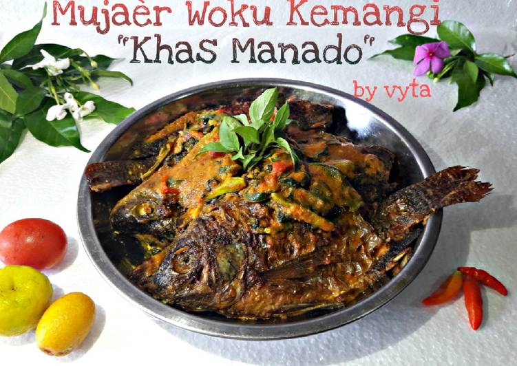 Mujaèr Woku Kemangi Khas Manado foto resep utama