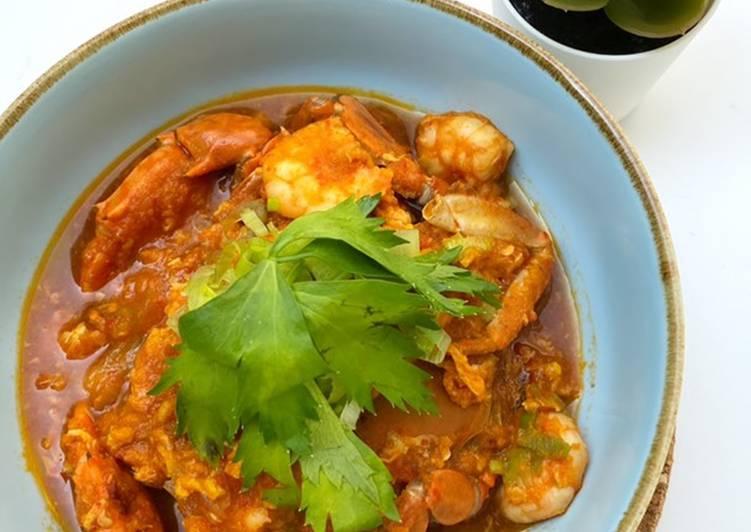 Kepiting Udang Saus Padang - cookandrecipe.com