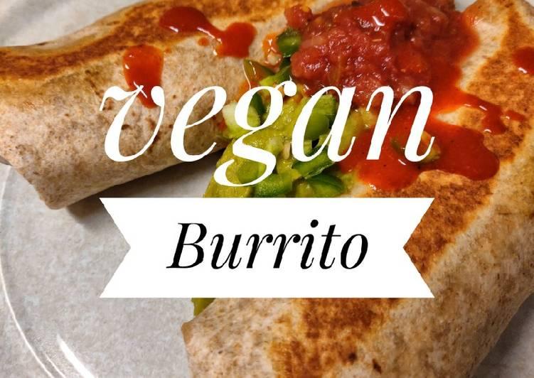 How to Prepare Speedy Vegan Burrito🌯