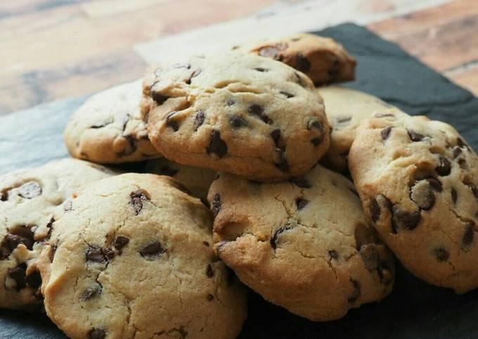 Cookies granola fondant à la pâte à tartiner !
