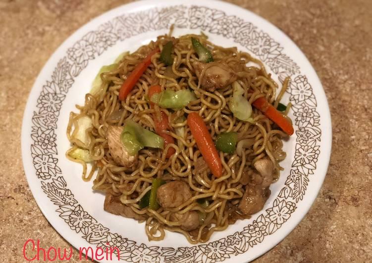 Chow mein(mi goreng ala Chinese take out)