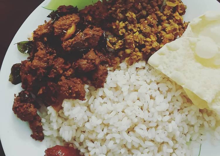 How to Prepare Quick Beef Coconut Ularthu