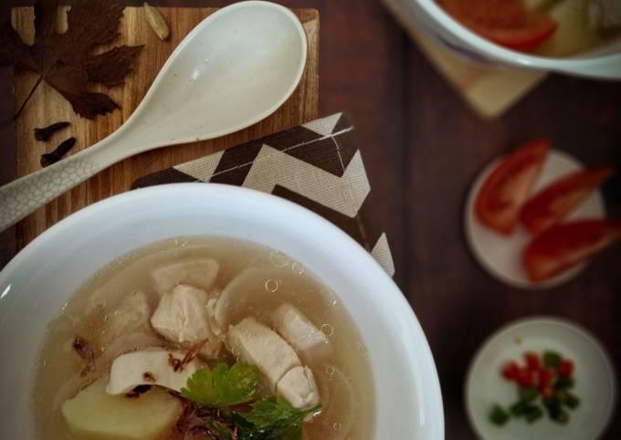 😋 Sup Ayam Budget Mudah