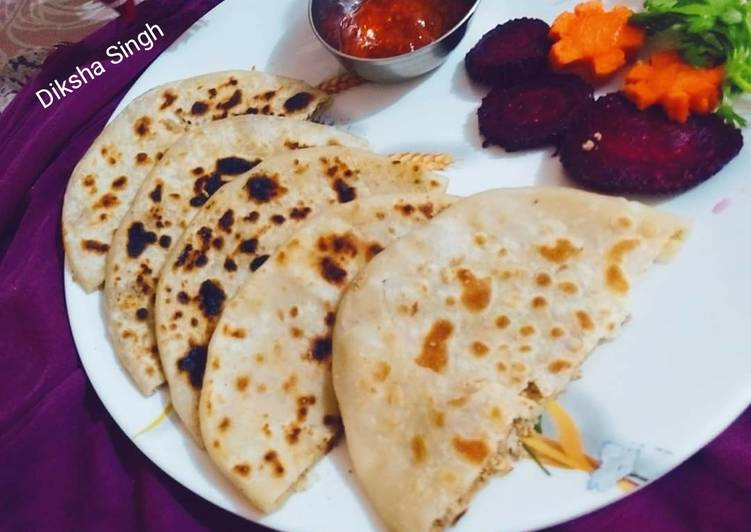 Foods That Can Make You Happy Sattu paratha
