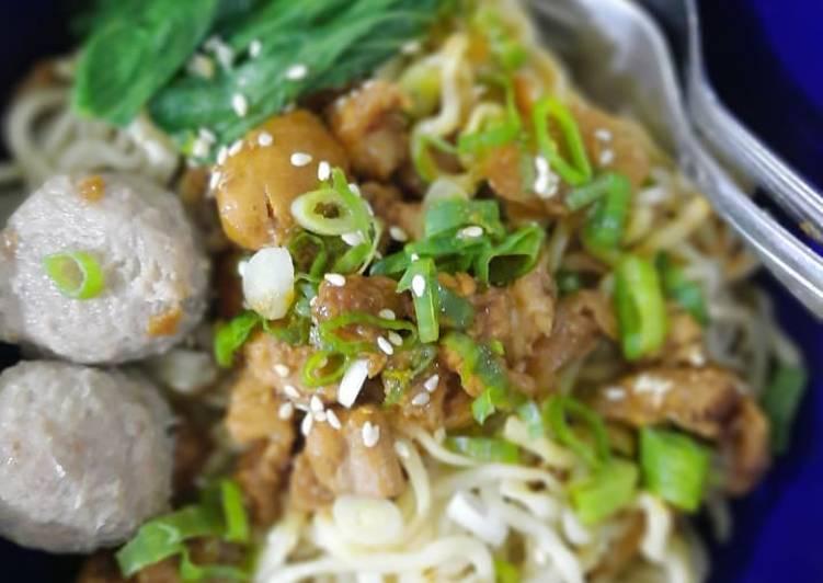 Mie Ayam - Asli resep Rumahan