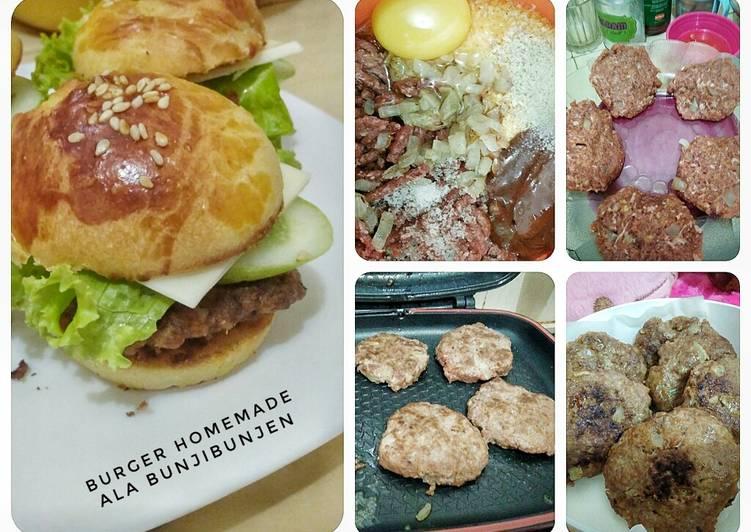 Daging Burger BunjiBunjen