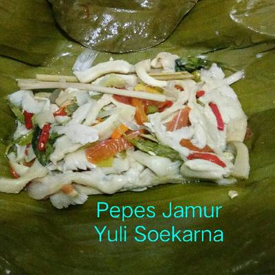 Resep Pepes Jamur Oleh Yuli Soekarna Cookpad