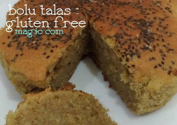 Bolu Talas - gluten free (pakai magic com)