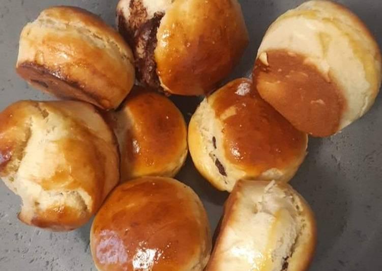 Comment Préparer Des Briochettes fourrées au nutella