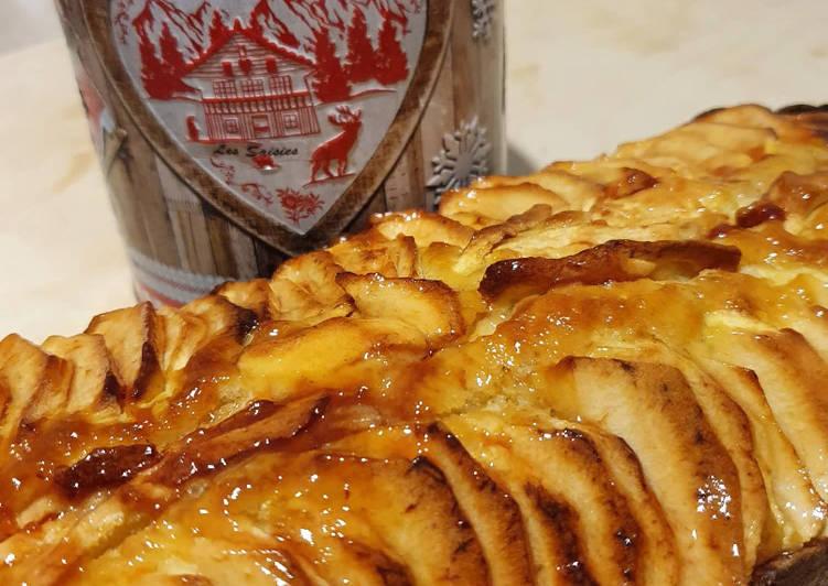 Recette Savoureux Cake aux pommes