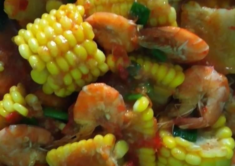Udang jagung saos padang teriyaki - cookandrecipe.com