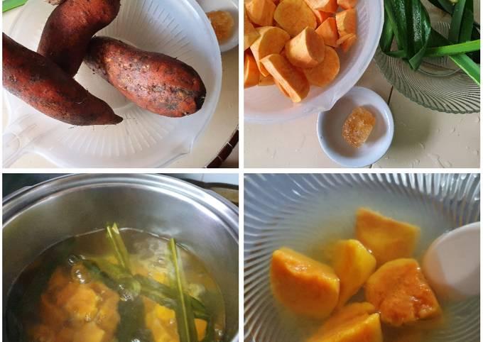 Dessert- Sweet Potatoes Soup