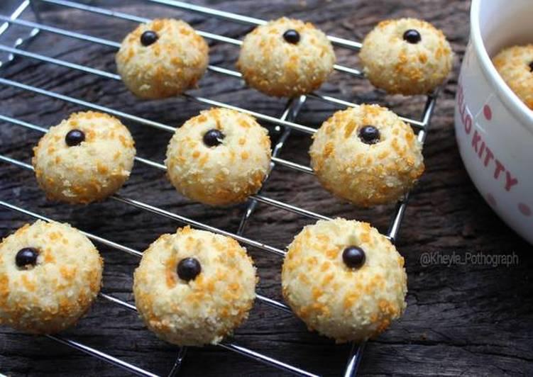 Monde / Janda Genit Tanpa Telur Tanpa Mixer (cookies) - cookandrecipe.com