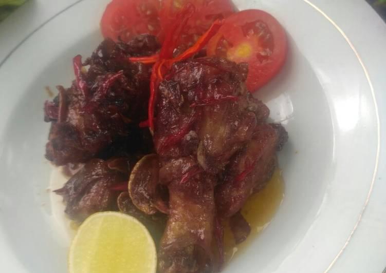 Ayam masak Lombok