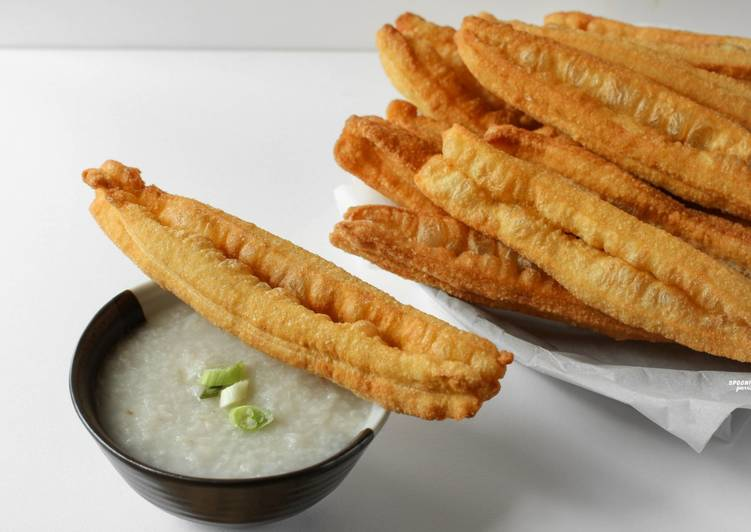 Easiest Way to Make Recipe of Homemade You Tiao / Chinese Donut / Cakwe [Vegan-Friendly] Recipes