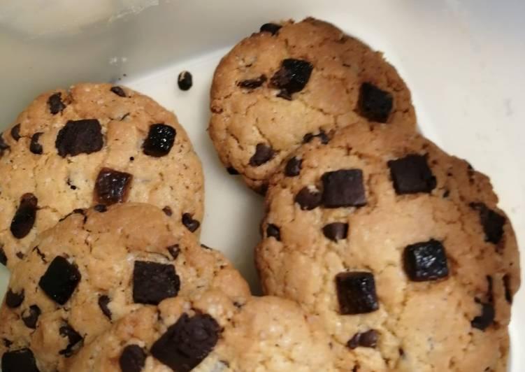 Recette Savoureux Cookies Américain