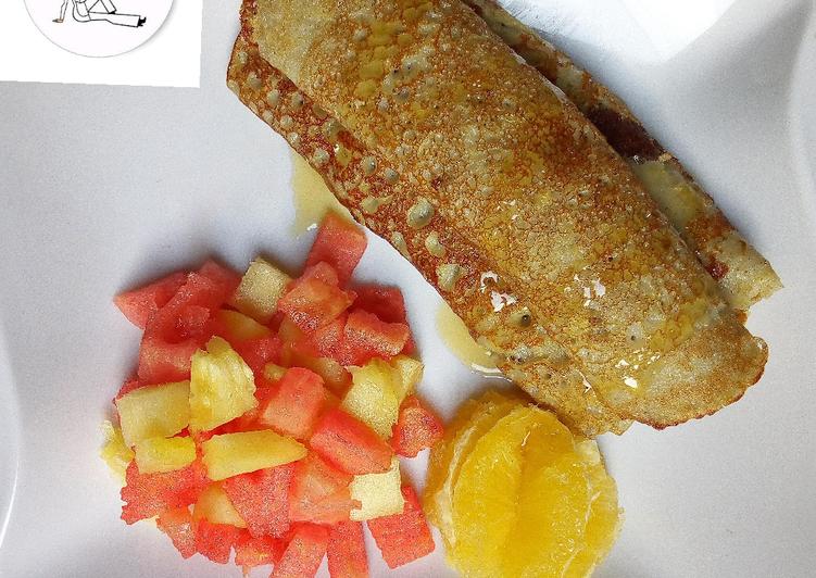 Recipe of Perfect Plantain pancake
