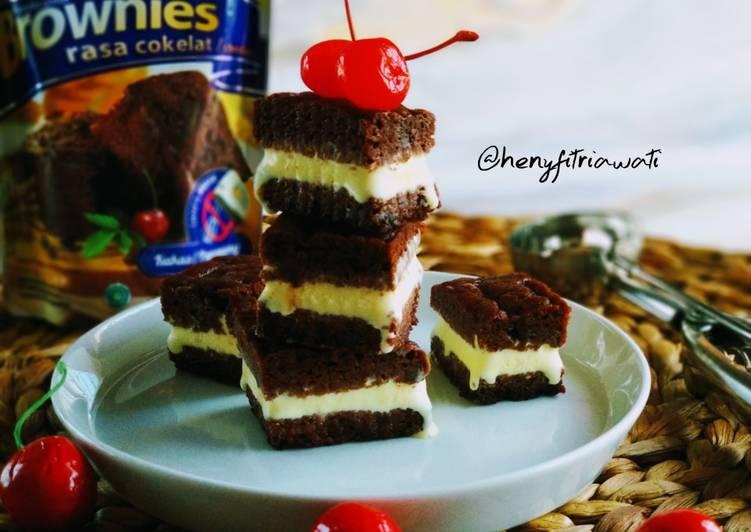 Resep Durian Brownies Ice Cream Anti Gagal