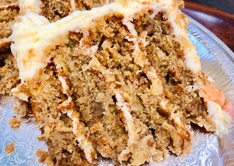 Step-by-Step Guide to Make Favorite Carrot Cake