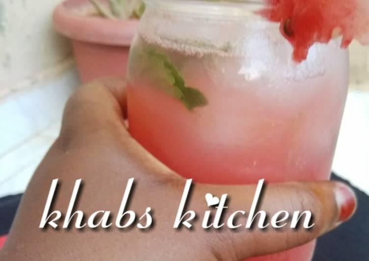 How to Prepare Perfect Watermelon lemonade