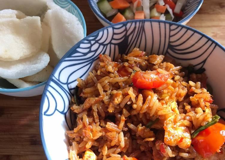 My version of Indonesian Nasi Goreng