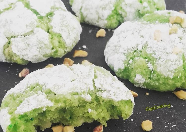 Recette De Biscuits à la pistache