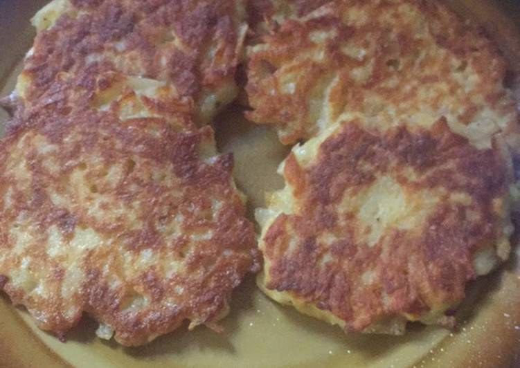 Simple Way to Prepare Super Quick Homemade Potato pancakes