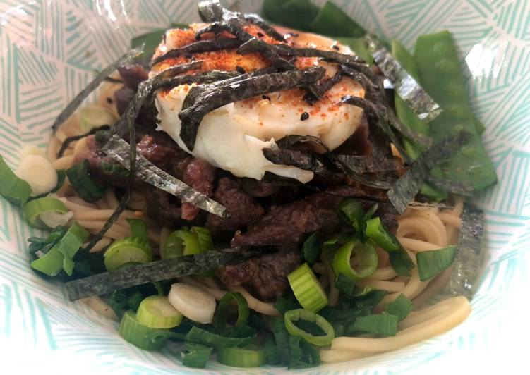 How to Prepare Ultimate Beef & Egg 'Mazemen' Noodles