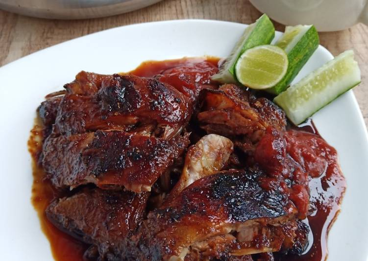 Resep Itik Bebek Panggang Banjar Oleh Yoenitaa Cookpad
