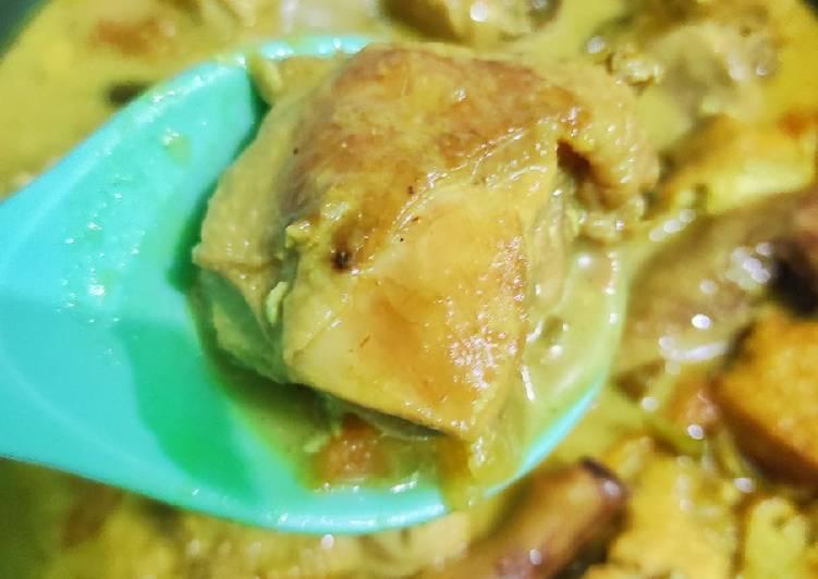 Opor Ayam Tahu Cokelat #499³²