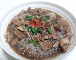 Bihun Jagung Kuah Rawon (Bumbu Instan Indofood Rawon)