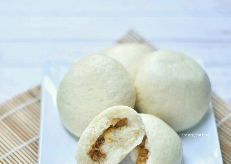 Resep Bakpao Ayam / Chicken Steam Buns Anti Gagal