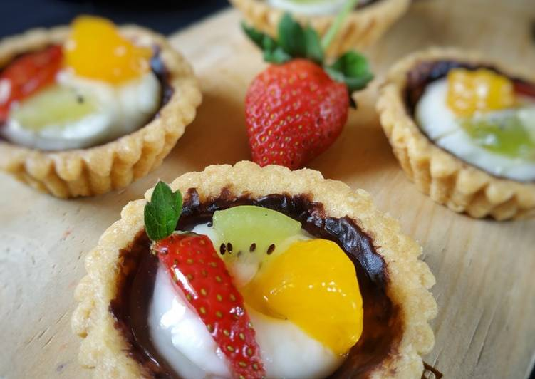 Resep Pie Buah / Fruit Pie Bikin Laper