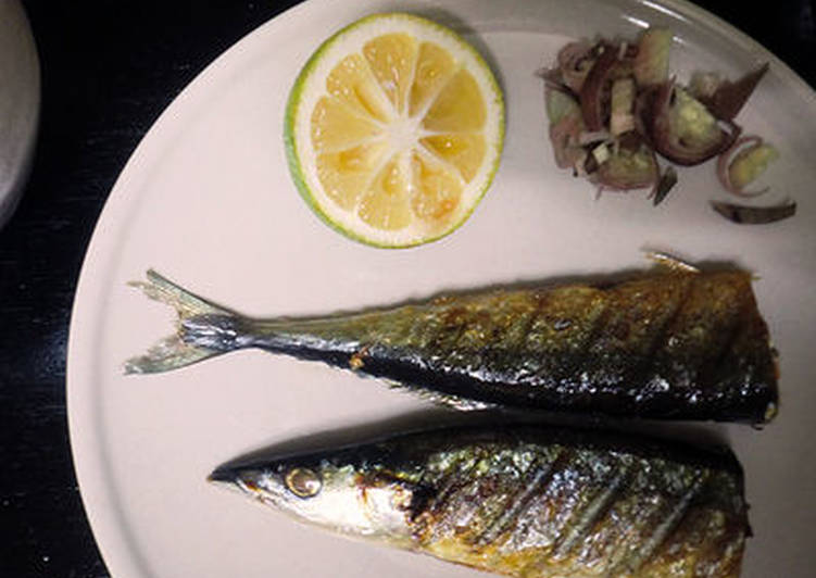 Simple Way to Make Most Popular Grilled Sanma