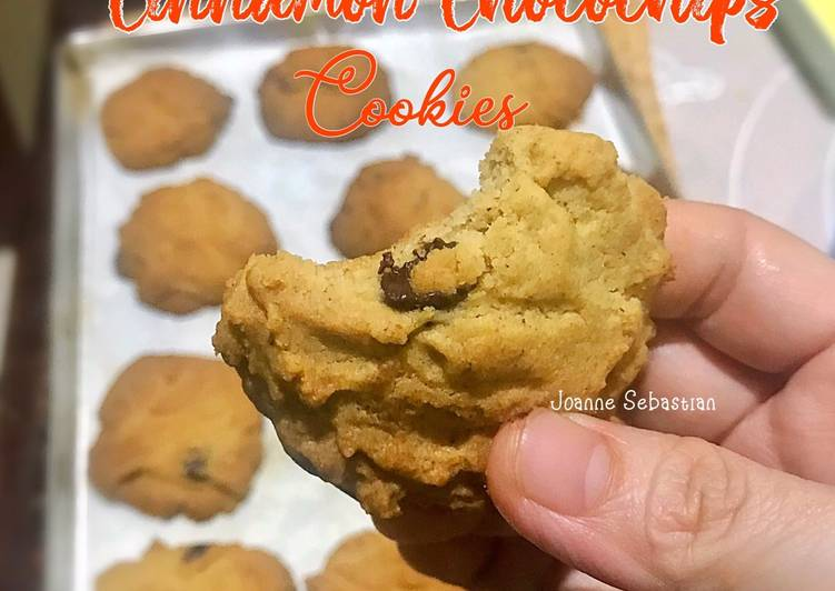 Cinnamon Chocochips Cookies