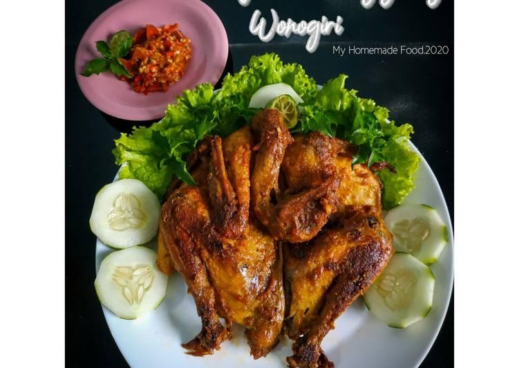 Ayam Panggang Wonogiri (oven)