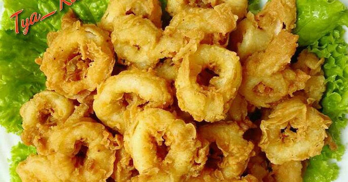 Resep Cumi Crispy Goreng Tepung Oleh Tya Kitchen Cookpad