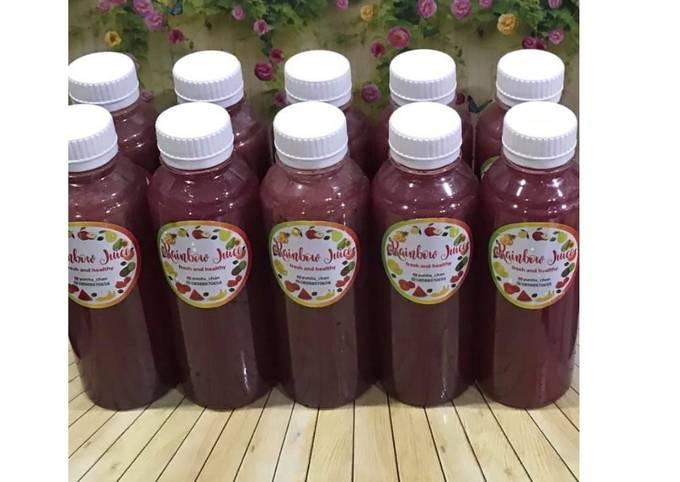 Diet Juice Grape Blueberry Pomegranate Pear Lime