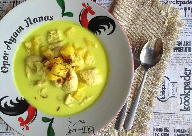 Opor Ayam Nanas*khas Palembang