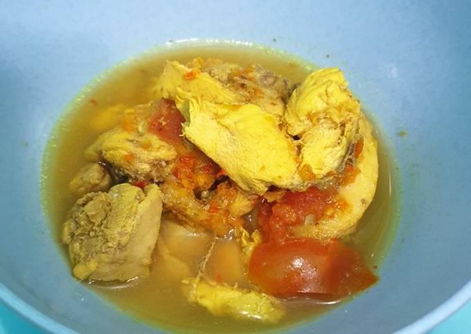 Rica-rica ayam ricecooker / magicom
