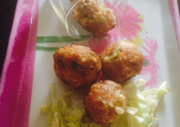 Fried bread balls